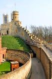 Slott i Lincoln, England Royaltyfria Bilder