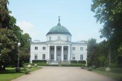 Slott i LubostroÅ Arkivbild