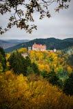 Slott i mest forrest Royaltyfri Fotografi