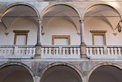 Slott i Opocno Arkivbilder