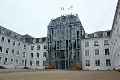 Slott i Saarbruecken Royaltyfri Fotografi