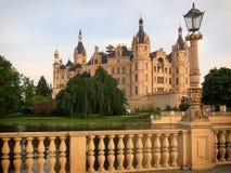 Slott i Schwerin, Tyskland Fotografering för Bildbyråer