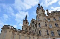 Slott i Schwerin (Tyskland) Royaltyfri Fotografi