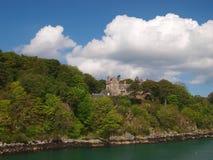 Slott i scotland Fotografering för Bildbyråer