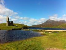Slott i scotland arkivfoto