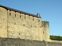 Slott i Sedan Royaltyfri Fotografi