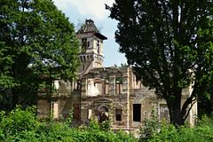 Slott i Skrytin Arkivfoton