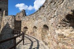 Slott i Stara Lubovna inom slovakia Royaltyfria Foton