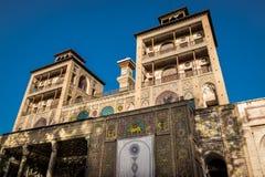 Slott i Teheran Arkivbild