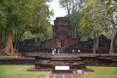 Slott i Thailand Royaltyfria Bilder