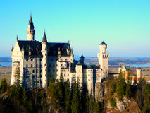 Slott i Tyskland Arkivfoto