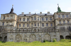 Slott i Ukraina Royaltyfri Foto