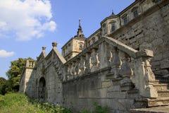 Slott i Ukraina Royaltyfri Bild