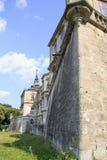 Slott i Ukraina Arkivfoton
