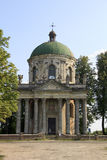 Slott i Ukraina Arkivbild