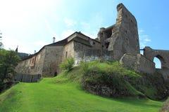 Slott i Velhartice Arkivbild