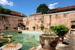 Slott i Yogyakarta, Indonesien Royaltyfria Bilder