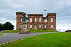 slott inverness Arkivfoto