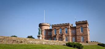 slott inverness scotland Royaltyfri Foto