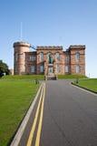slott inverness scotland Royaltyfria Bilder