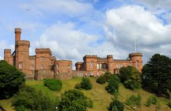 slott inverness scotland Royaltyfria Bilder