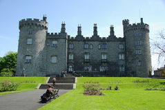 slott ireland kilkenny Arkivbilder