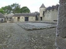 Slott Irland för Parke ` s arkivbild