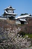 slott ishikawa japan kanazawa Fotografering för Bildbyråer