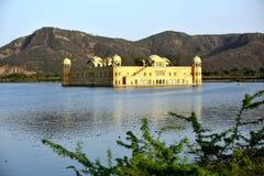 Slott Jal Mahal India Fotografering för Bildbyråer