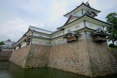 slott japan kanazawa Royaltyfri Bild