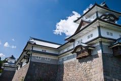 slott japan kanazawa Fotografering för Bildbyråer