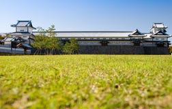 slott japan kanazawa Arkivbilder