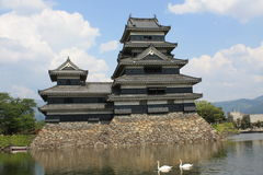 slott japan kumamoto Arkivfoton