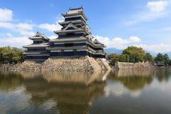 slott japan matsumoto Royaltyfri Fotografi