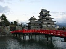slott japan matsumoto Royaltyfria Bilder