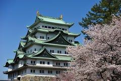 slott japan nagoya Royaltyfri Fotografi