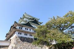 slott japan nagoya Arkivbilder