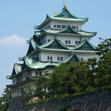 slott japan nagoya Royaltyfria Bilder