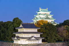 slott japan nagoya Arkivfoto