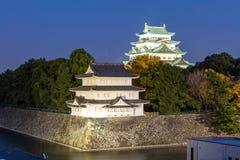 slott japan nagoya Royaltyfri Foto