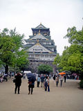 slott japan osaka Fotografering för Bildbyråer