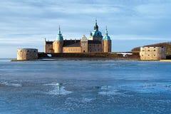 slott kalmar sweden Royaltyfri Foto