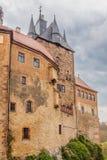 Slott Kriebstein i saxony royaltyfria bilder