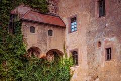 Slott Kriebstein i saxony royaltyfri foto