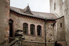 Slott Kriebstein i saxony royaltyfri fotografi