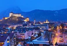 Slott Kufstein i Österrike Royaltyfria Foton