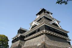 slott kumamoto Fotografering för Bildbyråer