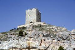 Slott Langa de Duero Spanien Royaltyfria Bilder