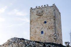 Slott Langa de Duero Spanien Royaltyfri Foto