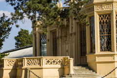 Slott Lednice i Moravia royaltyfri bild